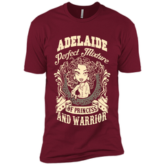 Adelaide Perfect Mixture Of Princess And Warrior T Shirts Next Level Premium Short Sleeve Tee - Family Reunion Tee