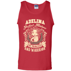 Adelina Perfect Mixture Of Princess And Warrior T Shirts Tank Top - Family Reunion Tee