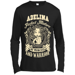 Adelina Perfect Mixture Of Princess And Warrior T Shirts Long Sleeve Moisture Absorbing Shirt - Family Reunion Tee