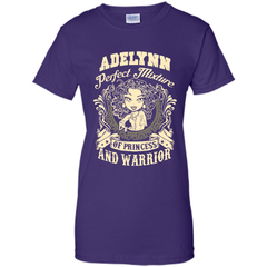 Adelynn Perfect Mixture Of Princess And Warrior T Shirts Ladies Custom - Family Reunion Tee