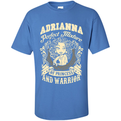 Adrianna Perfect Mixture Of Princess And Warrior T Shirts Custom Ultra Cotton - Family Reunion Tee