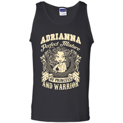 Adrianna Perfect Mixture Of Princess And Warrior T Shirts Tank Top - Family Reunion Tee