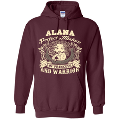 Alana Perfect Mixture Of Princess And Warrior T Shirts Pullover Hoodie 8 oz - Family Reunion Tee