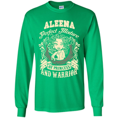 Aleena Perfect Mixture Of Princess And Warrior T Shirts LS Ultra Cotton Tshirt - Family Reunion Tee