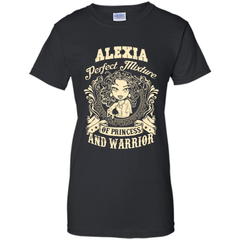Alexia Perfect Mixture Of Princess And Warrior T Shirts Ladies Custom - Family Reunion Tee