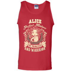 Alice Perfect Mixture Of Princess And Warrior T Shirts Tank Top - Family Reunion Tee