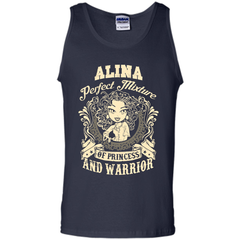Alina Perfect Mixture Of Princess And Warrior T Shirts Tank Top - Family Reunion Tee