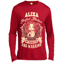 Aliza Perfect Mixture Of Princess And Warrior T Shirts Long Sleeve Moisture Absorbing Shirt - Family Reunion Tee