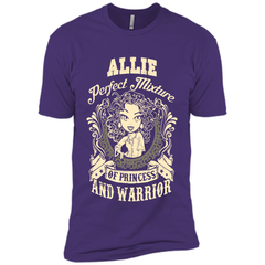 Allie Perfect Mixture Of Princess And Warrior T Shirts Next Level Premium Short Sleeve Tee - Family Reunion Tee