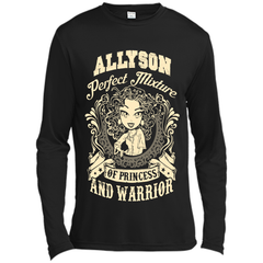 Allyson Perfect Mixture Of Princess And Warrior T Shirts Long Sleeve Moisture Absorbing Shirt - Family Reunion Tee