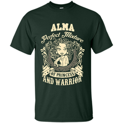 Alma Perfect Mixture Of Princess And Warrior T Shirts Custom Ultra Cotton - Family Reunion Tee