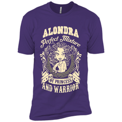 Alondra Perfect Mixture Of Princess And Warrior T Shirts Next Level Premium Short Sleeve Tee - Family Reunion Tee