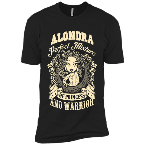 Alondra Perfect Mixture Of Princess And Warrior T Shirts Black / Small Next Level Premium Short Sleeve Tee - Family Reunion Tee