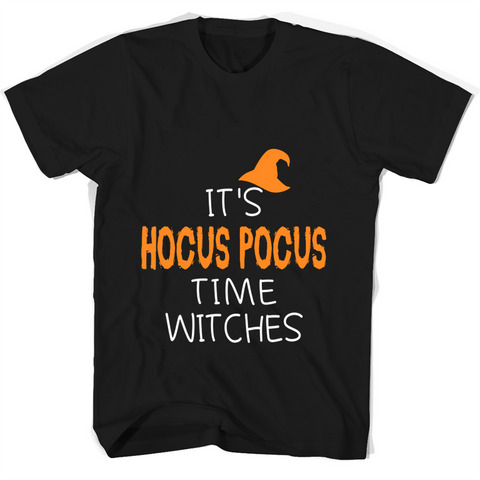 Its Hocus Pocus Time Witches T Shirts