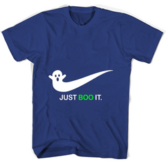Just Boo It T Shirts Round Neck T-Shirt Unisex - Family Reunion Tee