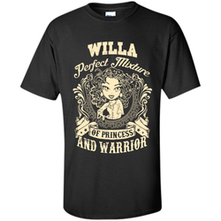 Willa Perfect Mixture Of Princess And Warrior T Shirts