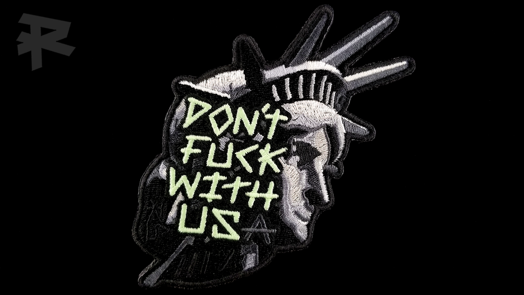 DON'T FUCK WITH USA PATCH
