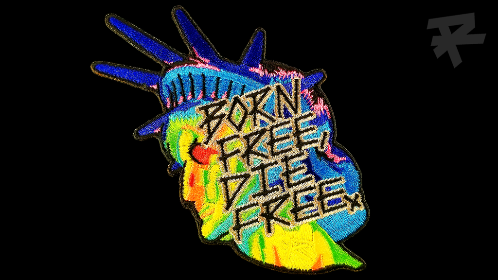 THERMAL BORN FREE DIE FREE PATCH