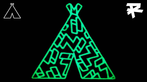 iN! TEEPEE PATCH