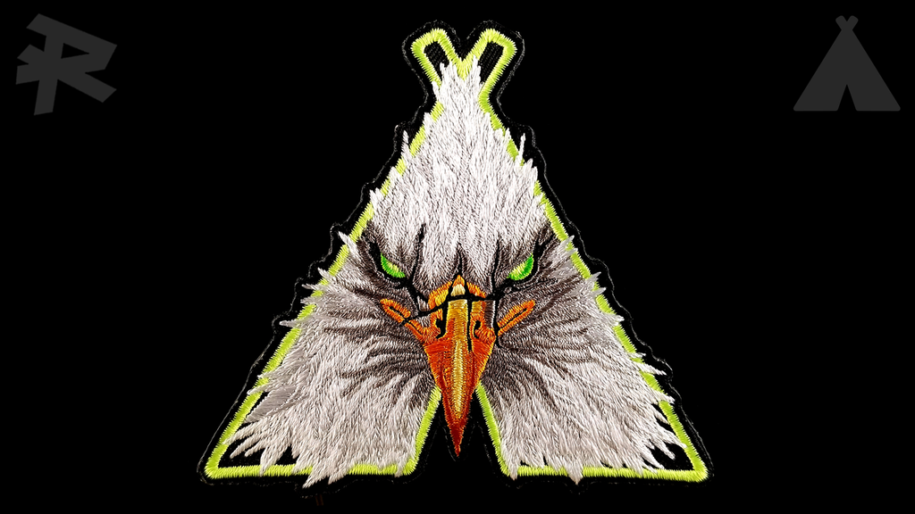 Eagle Teepee Patch