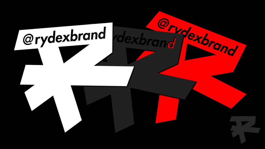 "5"" VINYL VEHICLE @RYDEXBRAND STICKER"