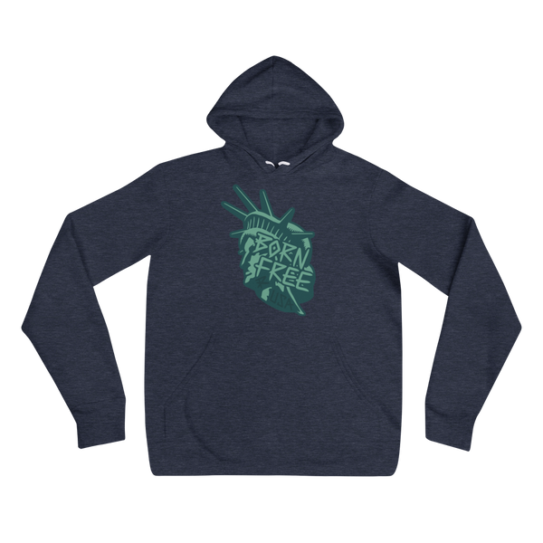 BORN FREE MEDIUM WEIGHT HOODIE