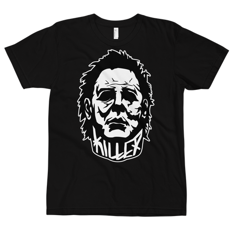 MEYERS BLACK AND WHITE KILLER T-SHIRT