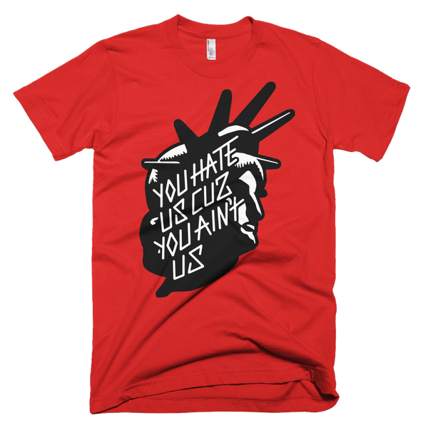 YOU HATE US (BLACK/WHITE) T-SHIRT