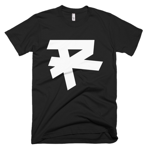 R LOGO (WHITE) T-SHIRT