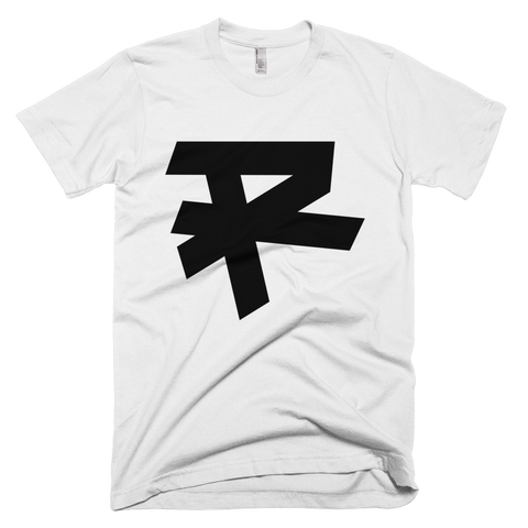 R LOGO (BLACK) T-SHIRT