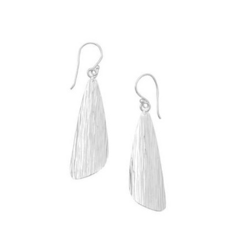 Sterling Silver Angle earring