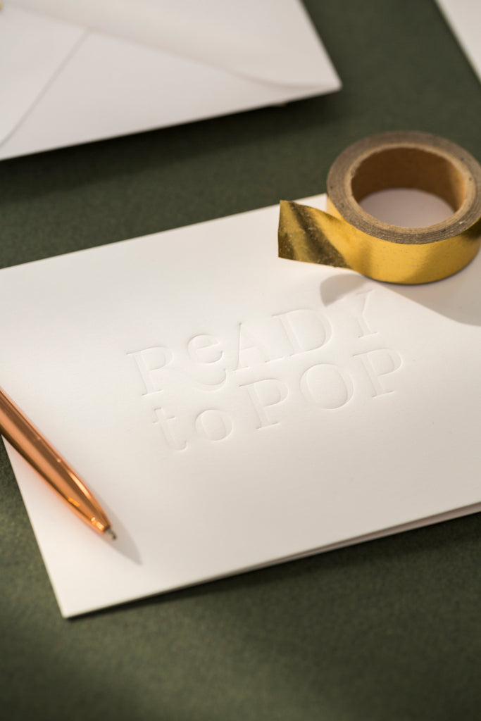 Add a Personal Touch with Ready to Pop Stationery