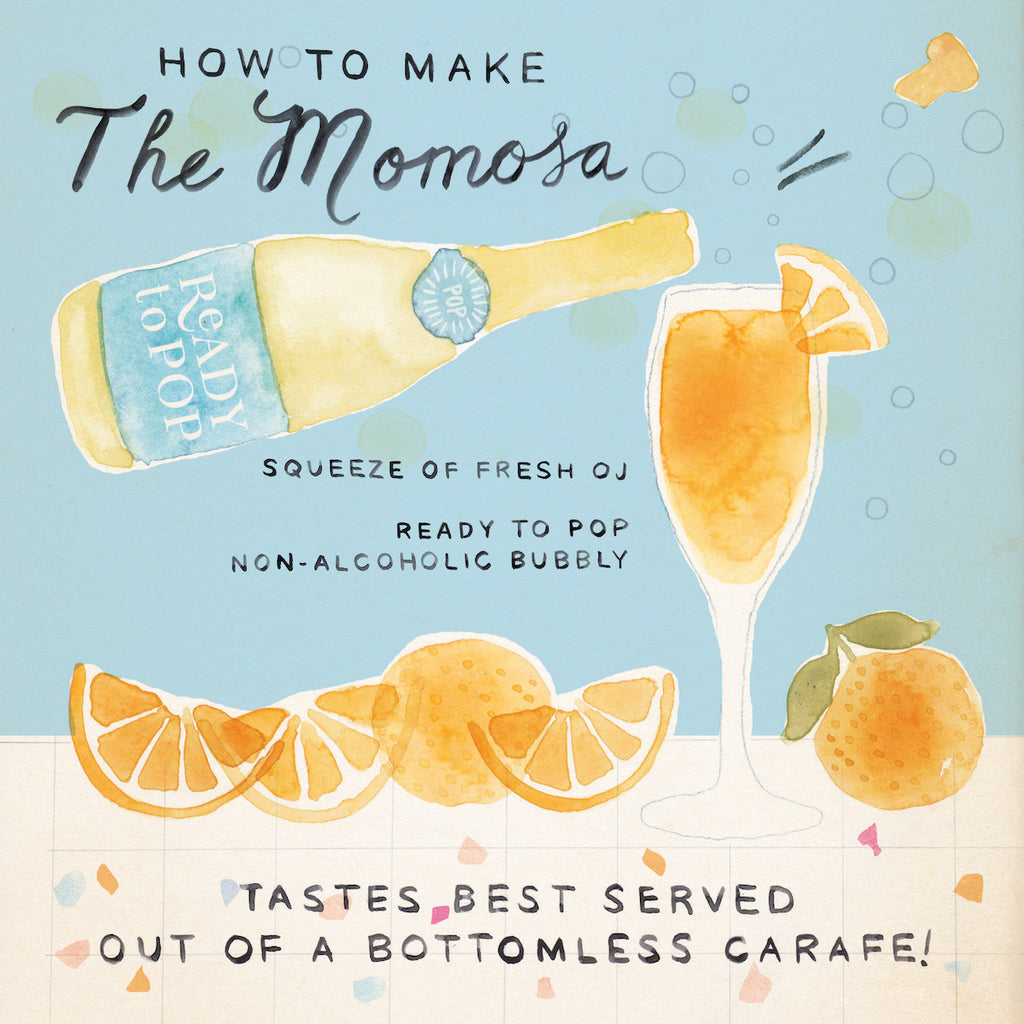 "make a ""mimosa"" at your next baby shower"