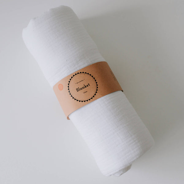 Oohbubs 100% Cotton Blanket - White