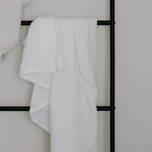 Oohbubs 100% Cotton Muslin- White