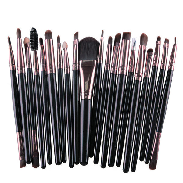 20pc Makeup Brush Set