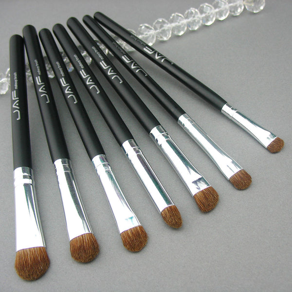 JAF 7pc Eye Brush Set - Pony Hair