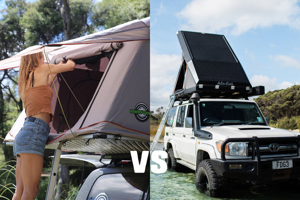 Alu-Cab Gen3 Tent vs Traditional Roof Top Tent