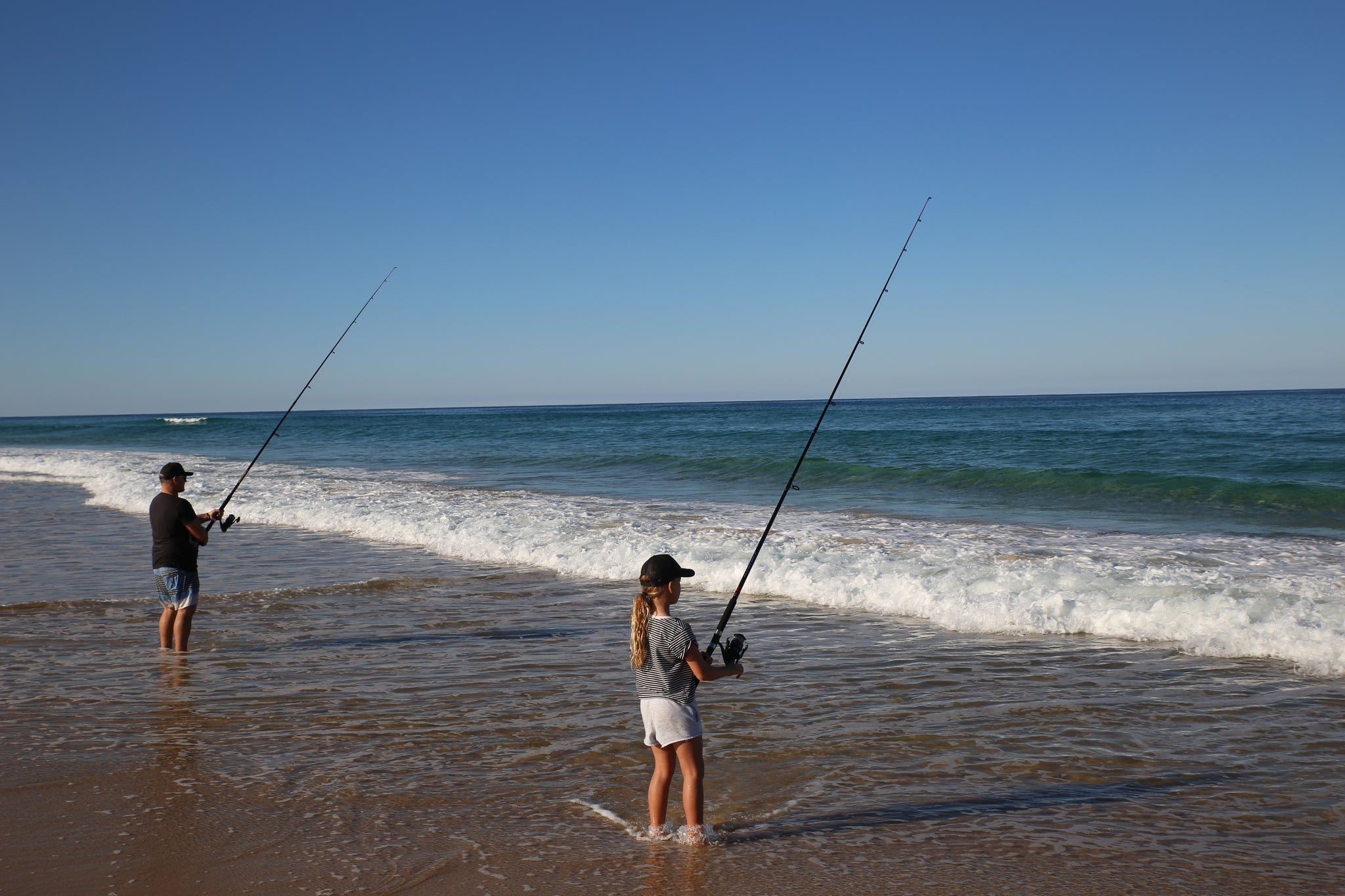Fraser island beach fishing
