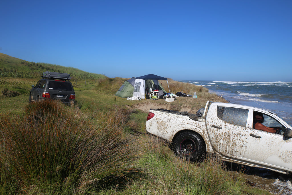 4WD beach recovery