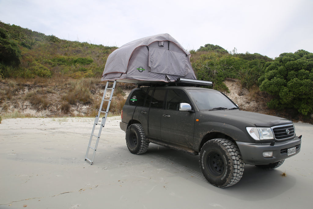 Drying out a roof top tent