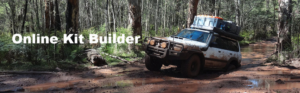 Raw4x4 kit builder
