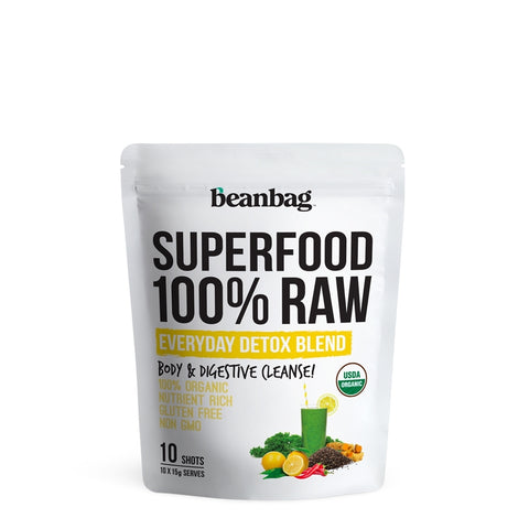 Beanbag - Superfood 100% Raw #Everyday Detox Blend/ 10*15g