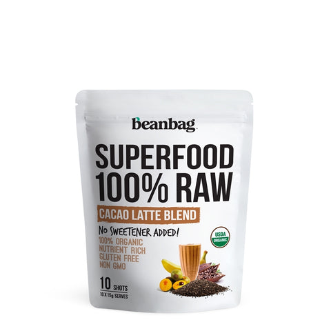 Beanbag - Superfood 100% Raw #Cacao Latte Blend / 10*15g