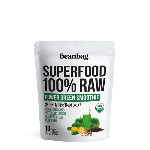 Beanbag - Superfood 100% Raw #Power Green Smoothie / 10*15g