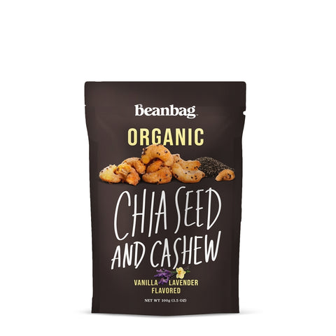 Beanbag - Chia Seed And Cashew #Vanilla Lavender Flavored / 100g