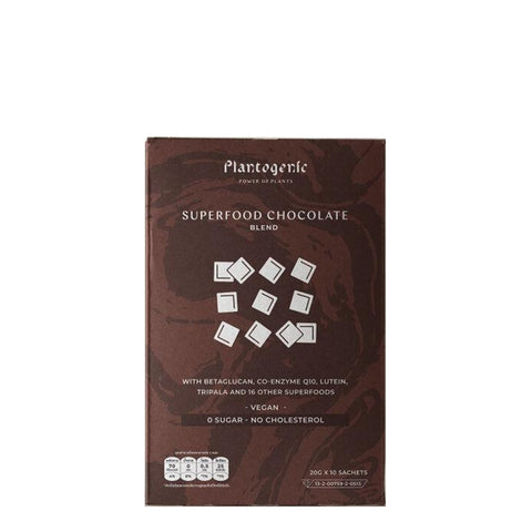 Plantogenic - Superfood Chocolate / 10*20g
