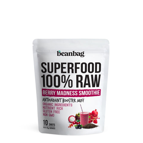 Beanbag - Superfood 100% Raw #Berry Madness Smoothie / 10*15g