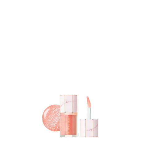 Dear Dahlia - Blooming Edition Paradise Aurora Shine Lip Treatment #Heavenly / 6.5 ml.
