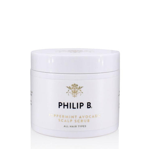 Philip B. - Peppermint Avocado Scalp Scrub / 236ml